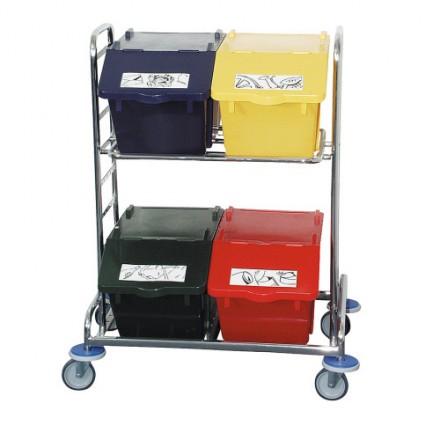 Sistem za ločevanje odpadkov na vozičku JUMBO