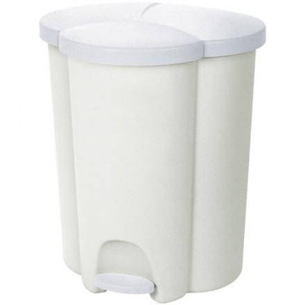 Koš za ločevanje odpadkov s predalom Trio