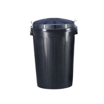 Plastična posoda s pokrovom za odpadke