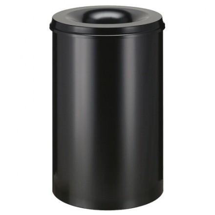 Samo zadušljivi koš 30L Črn/črn