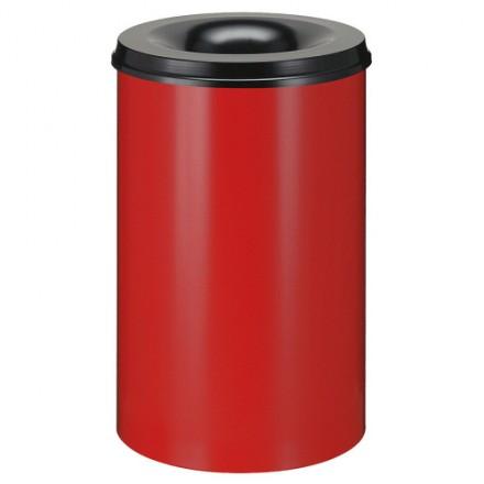 Samo zadušljivi koš 30L Rdeč/črn