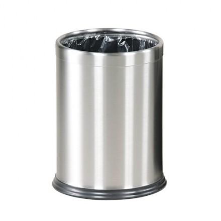 Pisarniški koš za smeti 10L Inox