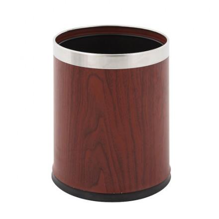 Pisarniški koš za smeti 10L Imitacija lesa