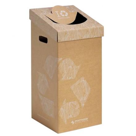 Kartonski koš za smeti 70L