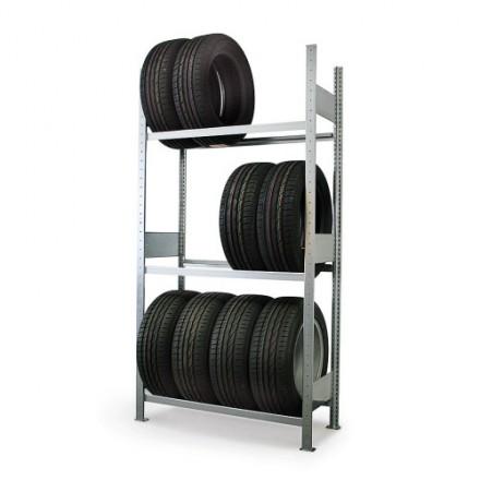 Regal za skladiščenje pnevmatik 1000 x 400 x 2000 mm