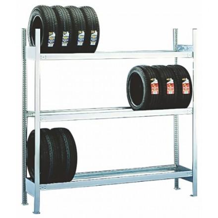 Regal za skladiščenje pnevmatik 2056 x 400 x 2000 mm