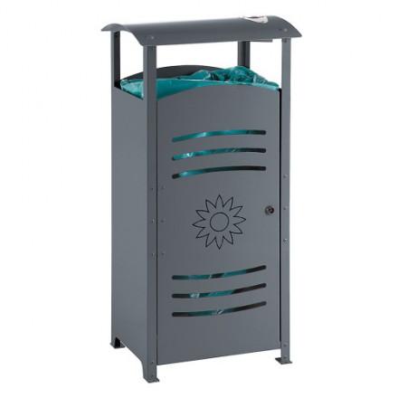 Kvadratni koš za ločevanje odpadkov 110L