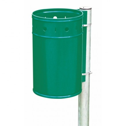 Viseči koš za odpadke - Zelen