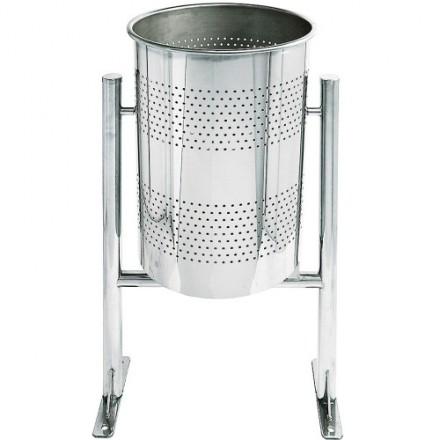 Vrtljiva košara za odpadke - Inox
