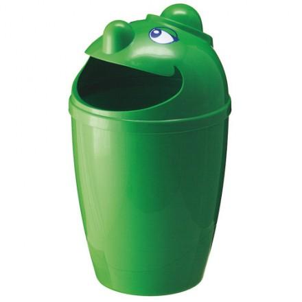 """Zunanji koš za odpadke """" Funny"""" Zelen"""