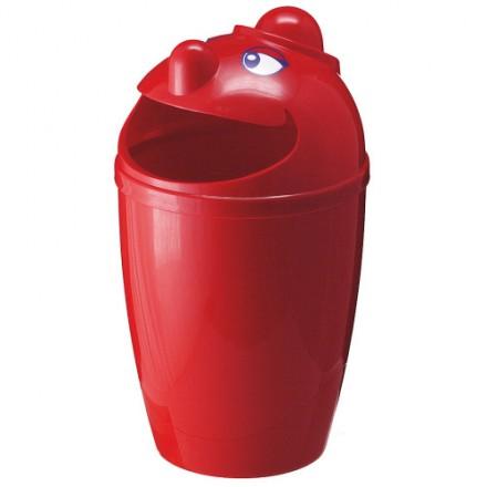 "Zunanji koš za odpadke "" Funny"" Rdeč"