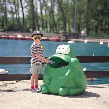 """Koš za odpadke """"Žaba"""""""