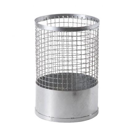 Okrogla žična košara za odpadke 70L