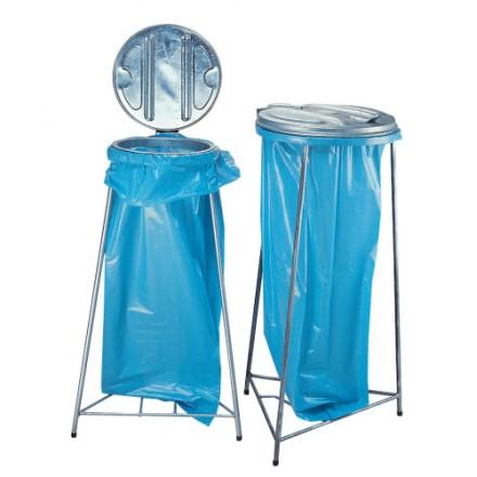 Cinkano stojalo za vreče za smeti 110L