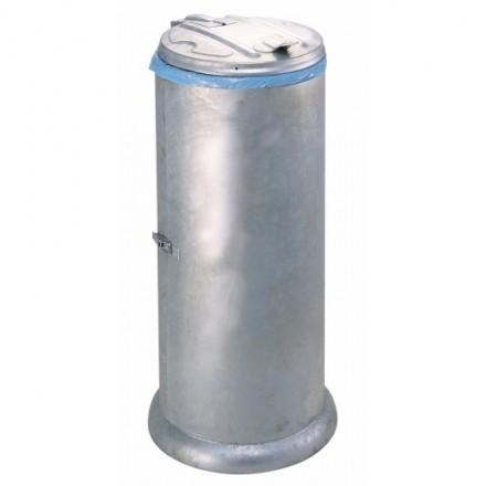 Cinkano zaprto stojalo za vreče za smeti 60L