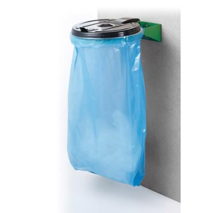 "Zidno stojalo za vreče z plastičnim pokrovom ""Mono"""