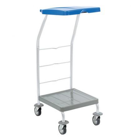 Sortirno stojalo za vreče na kolesih - Modro