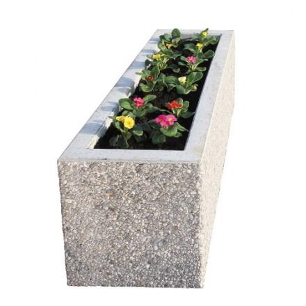 Betonsko korito za rože - pravokotno, tip 4637
