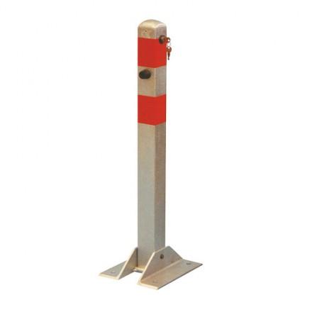 Zložljiv zaporni stebriček - srebrn