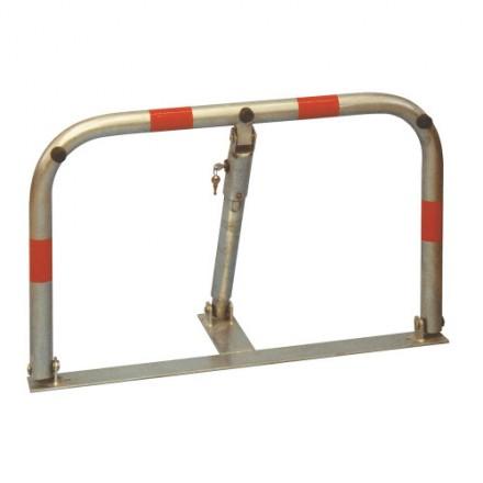 Zložljiva parkirna prepreka - srebrna