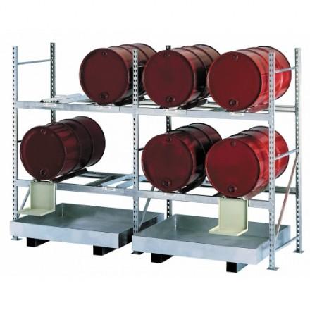 Dodatno polje za Regal za skladiščenje 200 L sodov
