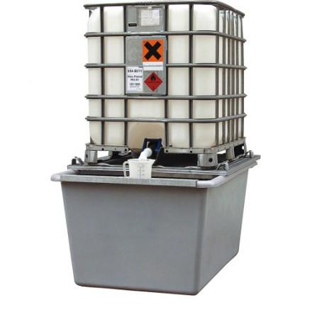 Lovilna posoda za IBC cisterno iz Steklenega laminata