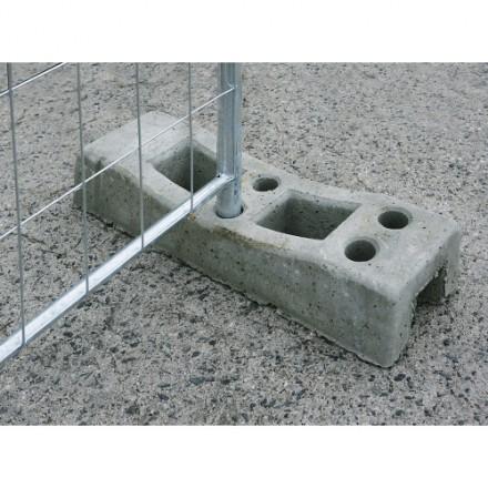 Betonski blok za mobilno ogrado