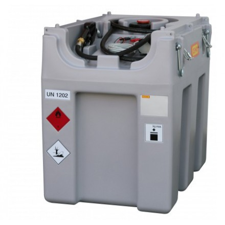 Mobilna črpalna postaja za Nafto 600L-24V