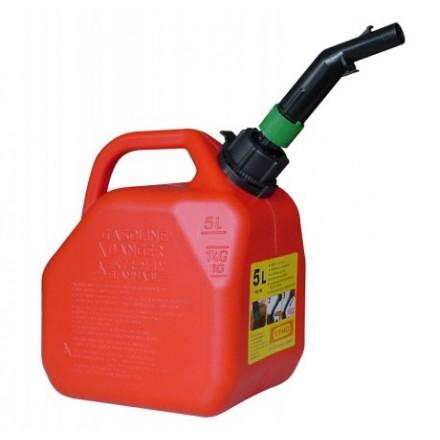 Ročka za gorivo s sistemom za točenje 5L