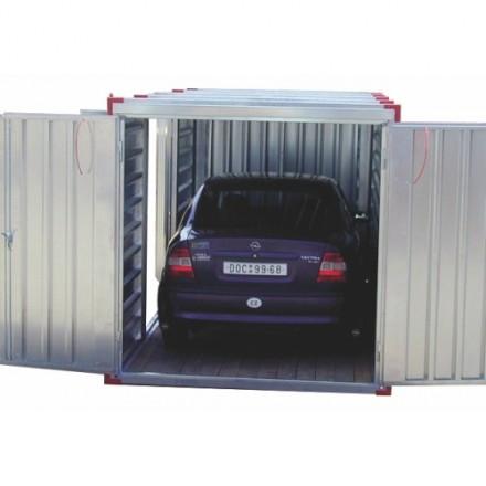 Zložljiv kovinski Garaža 5000 mm