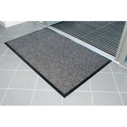 Predpražnik Entraplush 0,6 x 0,9 m (siva/črna)