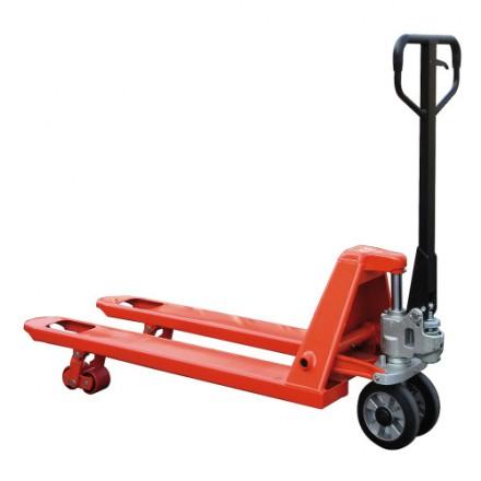 Ročni paletni voziček s kolesi iz gume