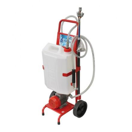 Električna naprava za sesanje olja