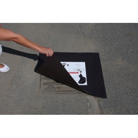 Magnetni zapiralec kanalizacije 600 x 600 x 0,9 mm
