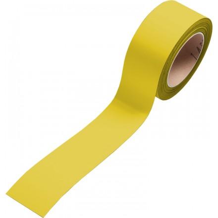 Magnetni skladiščni trak za označevanje v roli - Rumen